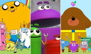 From left: Adventure Time, Ask the Storybots, and the peerless Hey Duggee.