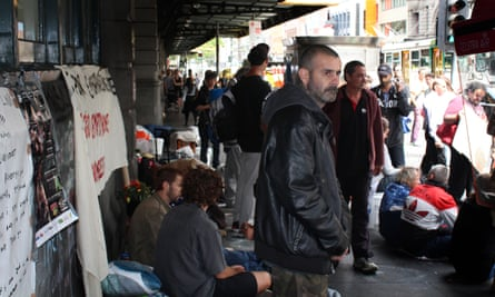 Homeless people in Melbourne