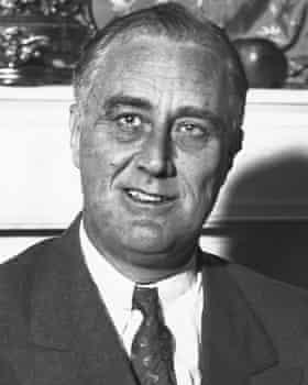 Franklin Delano Roosevelt in 1932.