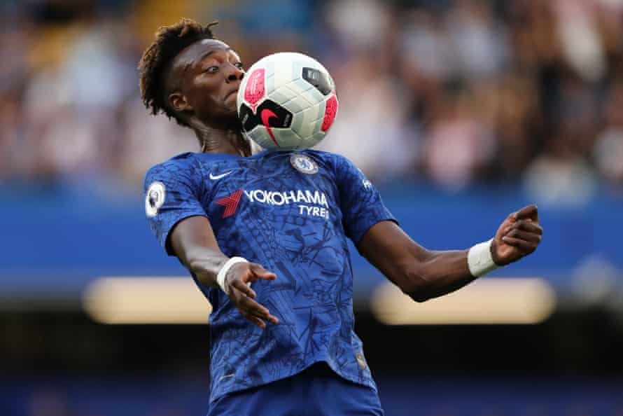 Tammy Abraham was another target of racist abuse.