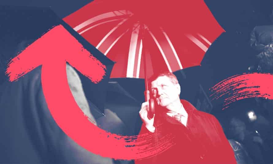 The Ukip leader, Gerard Batten