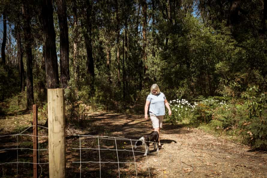 Deb Morrow at her home in Kinglake West