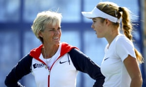 Judy Murray as the GB Federation Cup captian