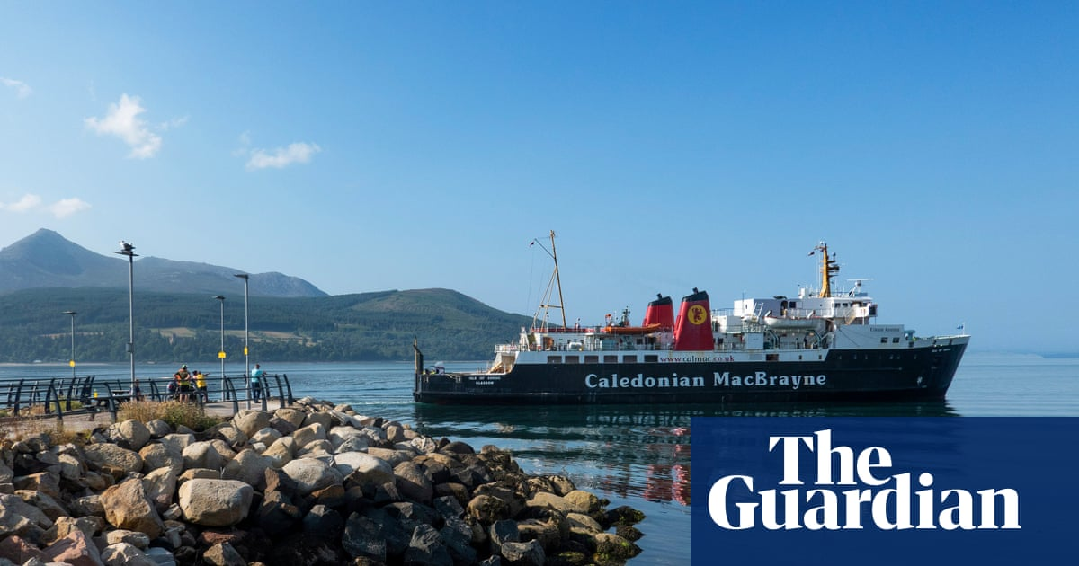 'It's incredibly poor': Scottish islanders angry at failing ferry service