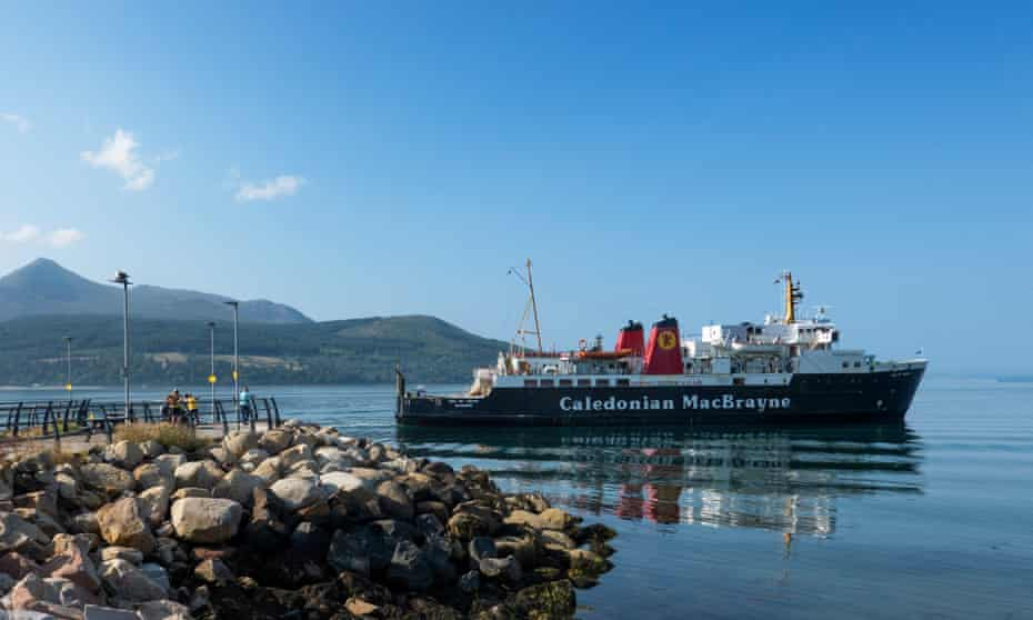 Tourism on the Isle of Arran has suffered after a summer of ferry chaos.