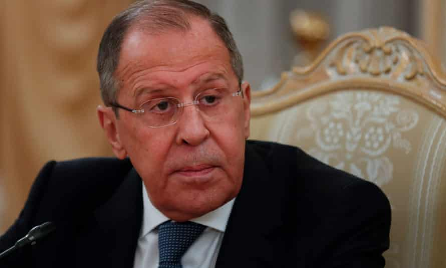 The Russian foreign minister, Sergey Lavrov, noted that while Russia could take 'painful measures' against American business interests in Russia, it would not immediately move to do that.