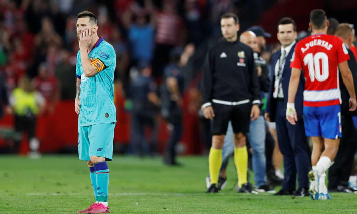 Barcelona trapped in a recurring nightmare that began at Anfield