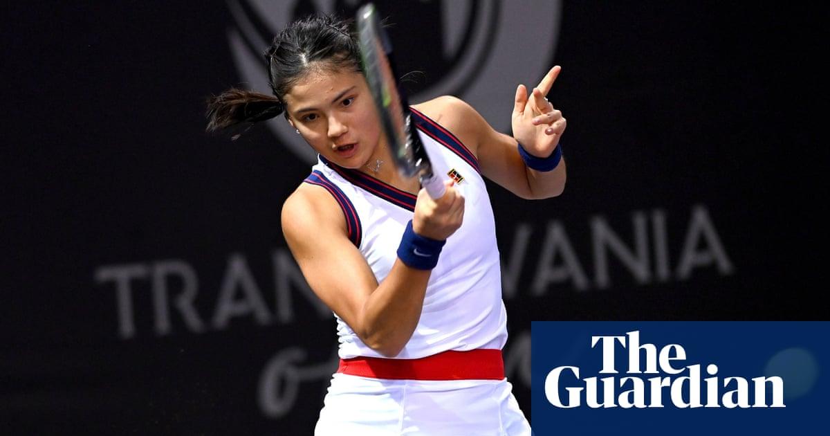 Emma Raducanu beats Ana Bogdan to reach Transylvanian Open quarters