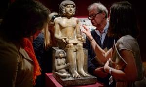 Egyptian statue of Sekhemka