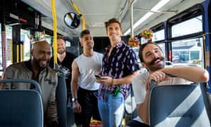 Queer Eye: the Fab Five ride again.