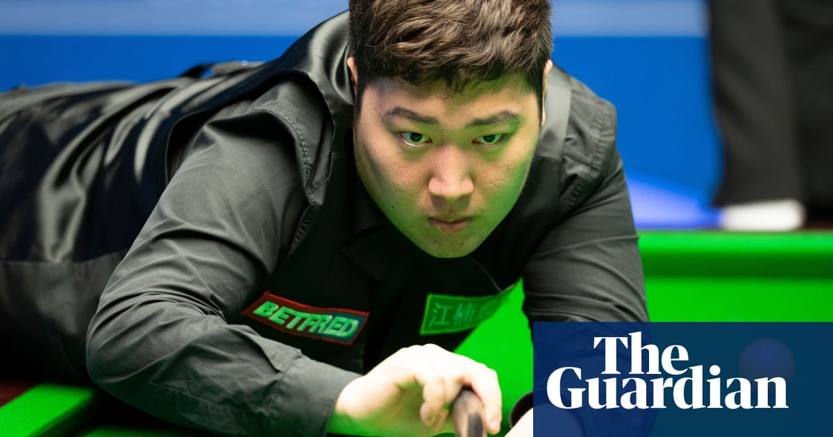 Yan Bingtao wins Masters snooker title on debut as comeback stuns Higgins