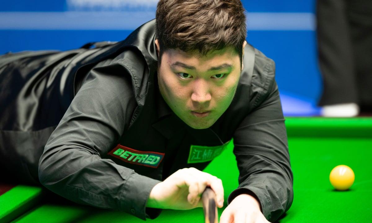 Yan Bingtao Wins Masters Snooker Title On Debut As Comeback Stuns Higgins Snooker The Guardian