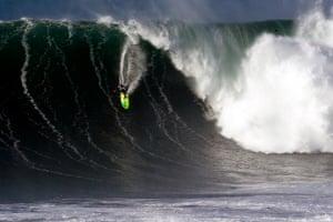 US surfer Trevor Carlson