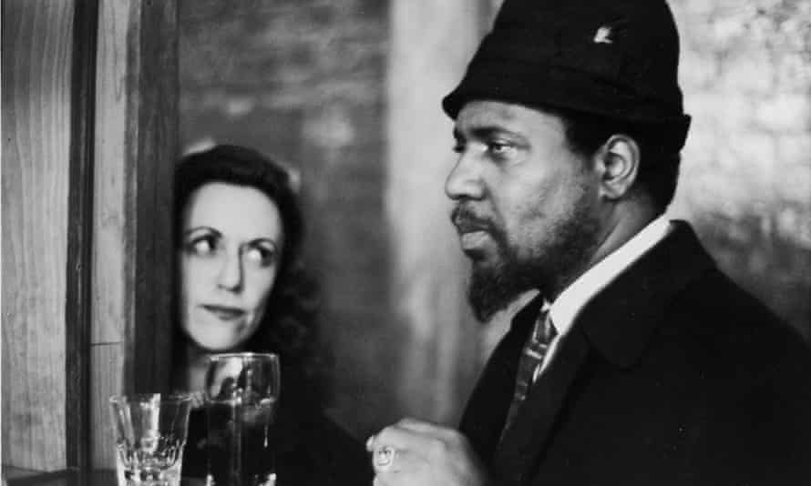 Monk with his patron and friend Baroness Nica (Pannonica) de Koenigswarter at New York's Five Spot jazz club in 1964.