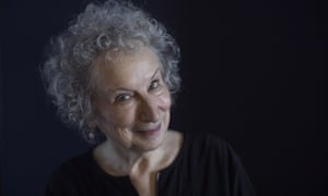 'One senses Atwood wants to seize every opportunity for fun': the novelist Margaret Atwood in Toronto last month