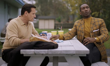 Feelgood drama … Viggo Mortensen and Mahershala Ali in Green Book.