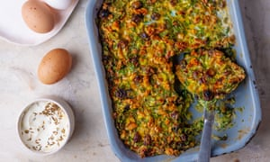 Kukuye sabsi from A new book of Middle Eastern Food by Claudia Roden. The Observer Food Monthly 20 best egg recipes.