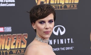 Scarlett Johansson has not commented publicly on the controversy over her casting as a trans massage parlour owner