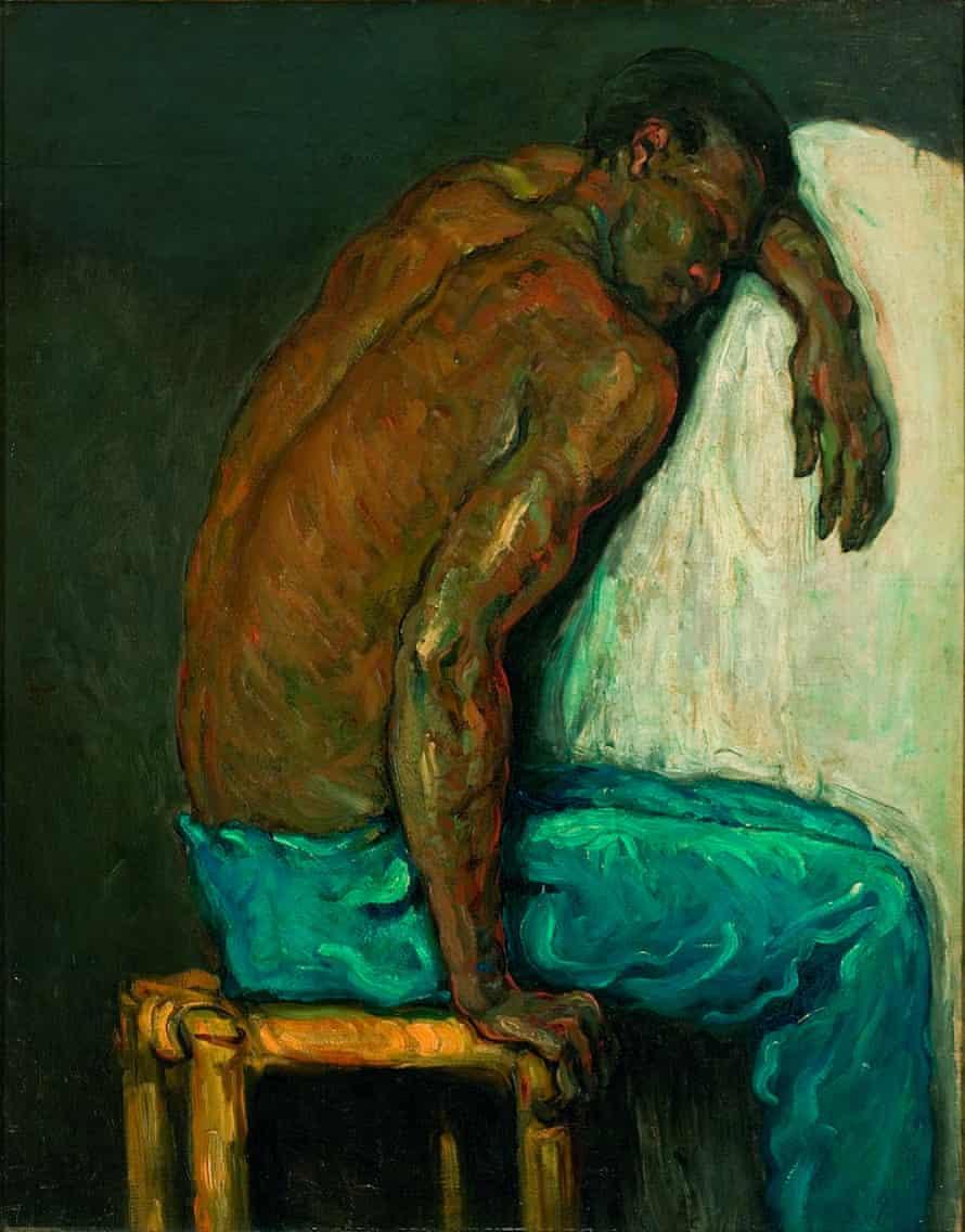 Le Nègre Scipion by Cézanne, c1867.