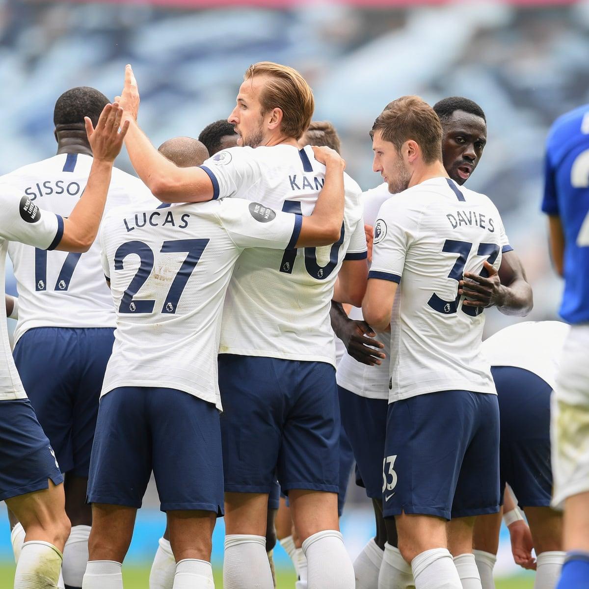 Tottenham 3 0 Leicester Premier League As It Happened Football The Guardian