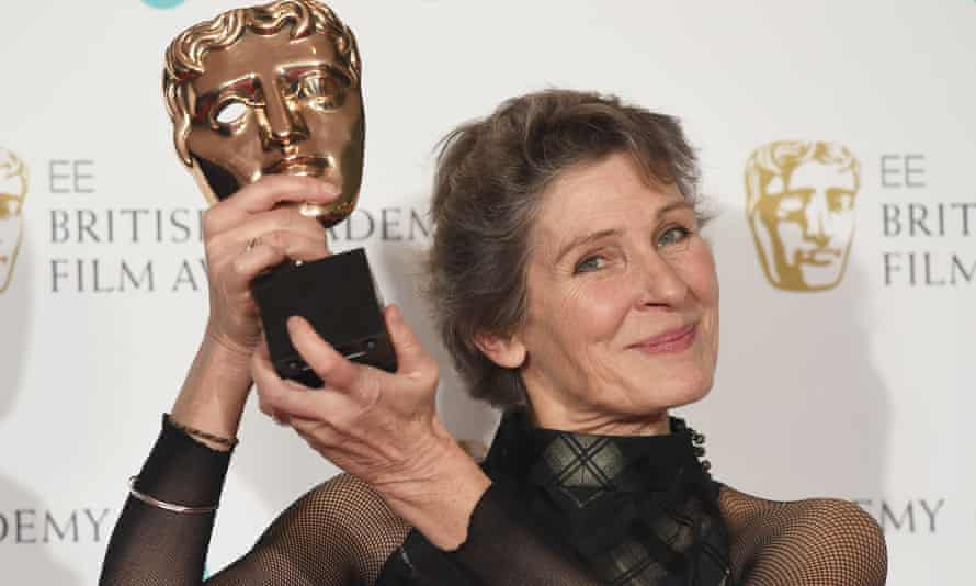 Madeline Fontaine with her shock Bafta for Jackie.