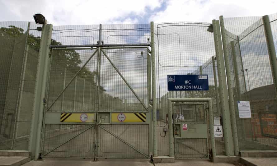 The immigration removal centre at Morton Hall in Lincolnshire