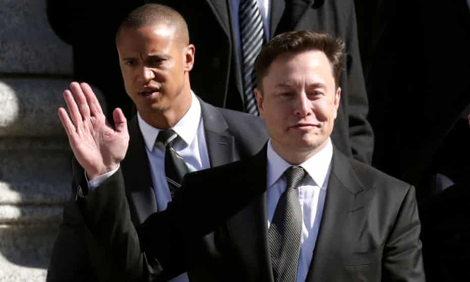 Elon Musk in New York City in April 2019.