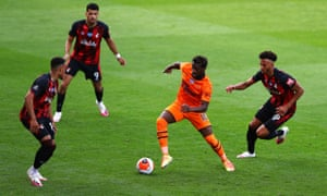 Allan Saint-Maximin was a revelation for Newcastle at Bournemouth.