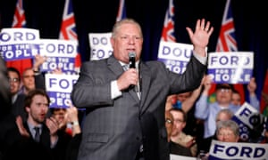 Doug Ford made no mention of a plan to downsize Toronto city council during his Ontario provincial election campaign a few weeks earlier.