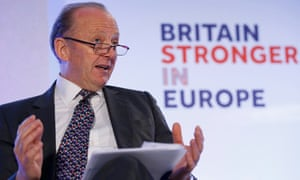 Sir Hugh Orde at pro-EU group launch