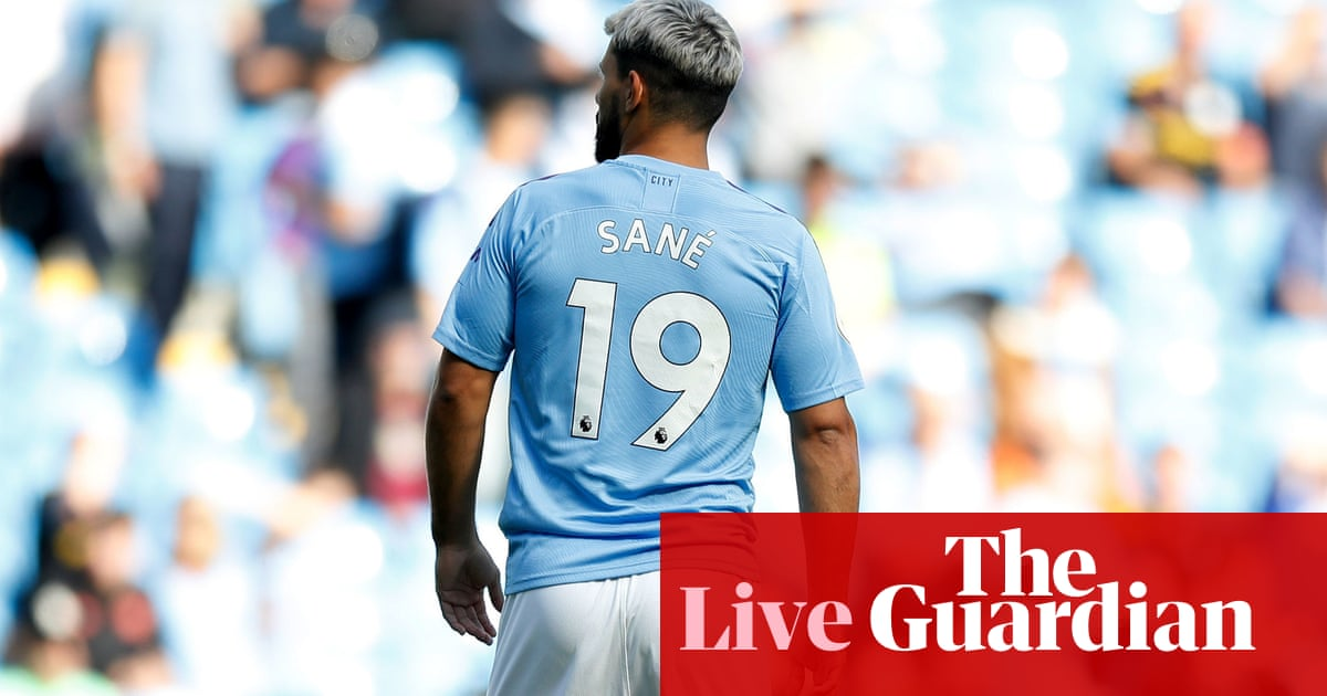 Manchester City v Tottenham Hotspur: Premier League – live!