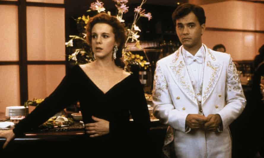 Elizabeth Perkins and Tom Hanks in Big