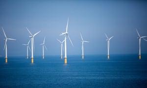 Teesside Wind Farm, an offshore wind farm in the North Sea.