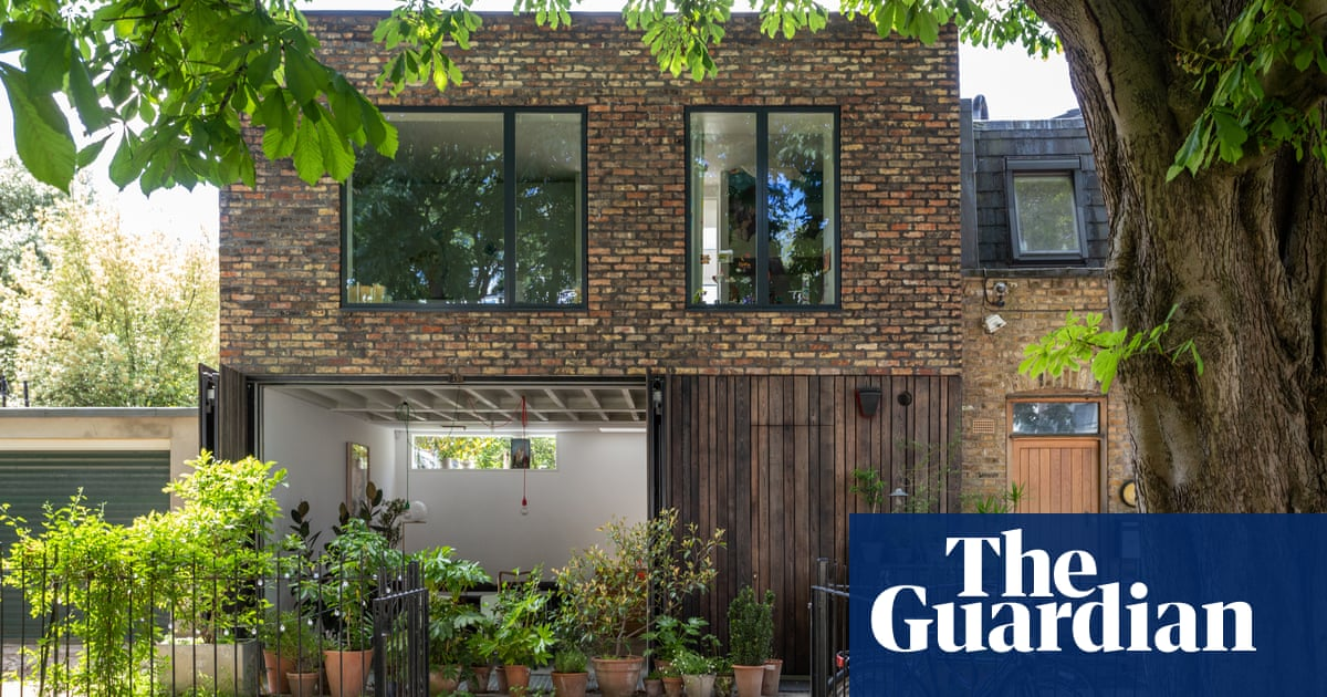 How one family turned a derelict garage into a home