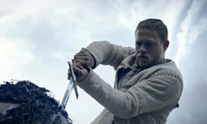 Get out ... Charlie Hunnam in King Arthur: Legend of the Sword.