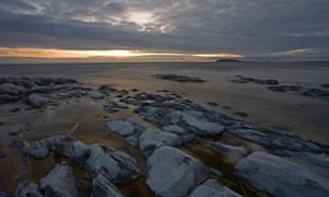 South Uist beach in the Western Isles