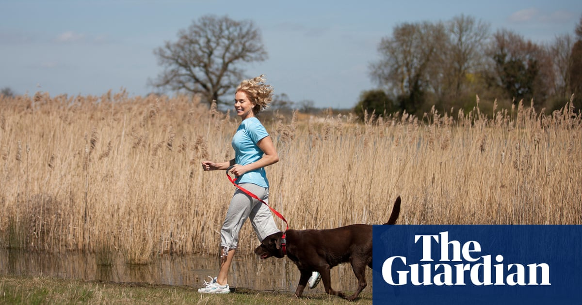 Running with your dog can keep you fit, but needs to be done responsibly