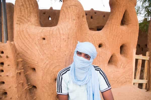 A former 'passeur' is seen in Agadez