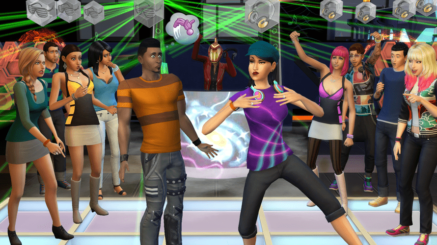 The Sims 4.
