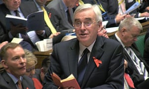 In November, shadow chancellor John McDonnell scored a stunning own goal by tossing a copy of Mao's Little Red Book at George Osborne.