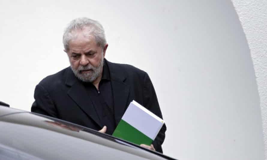 Former Brazilian president Luiz Inacio Lula da Silva has been charged in connection with a money laundering investigation.