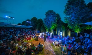 Grosvenor Park Open Air Theatre production of Twelfth Night.