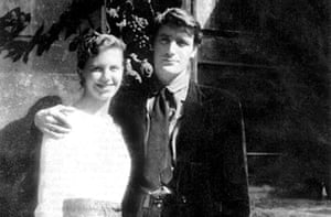sylvia plath and ted hughes on their honeymoon in paris in 1956