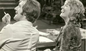 John Pitman with Esther Rantzen