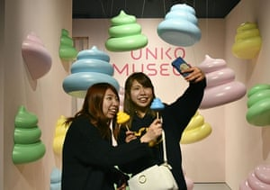 The poo-themed Unko Museum in Yokohama, Japan. Photograph: Kyodo News via Getty Images
