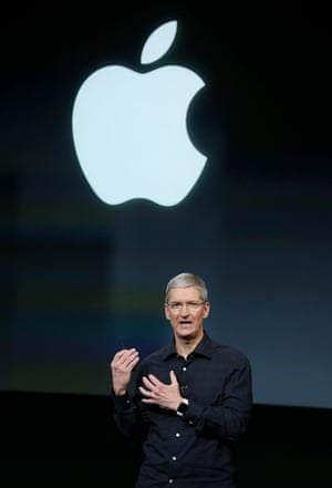 Tim Cook, Apple CEO.