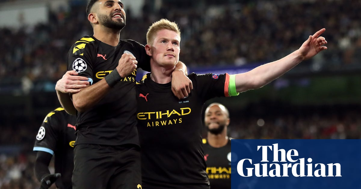 Manchester City secure famous win at Real thanks to De Bruyne and Jesus