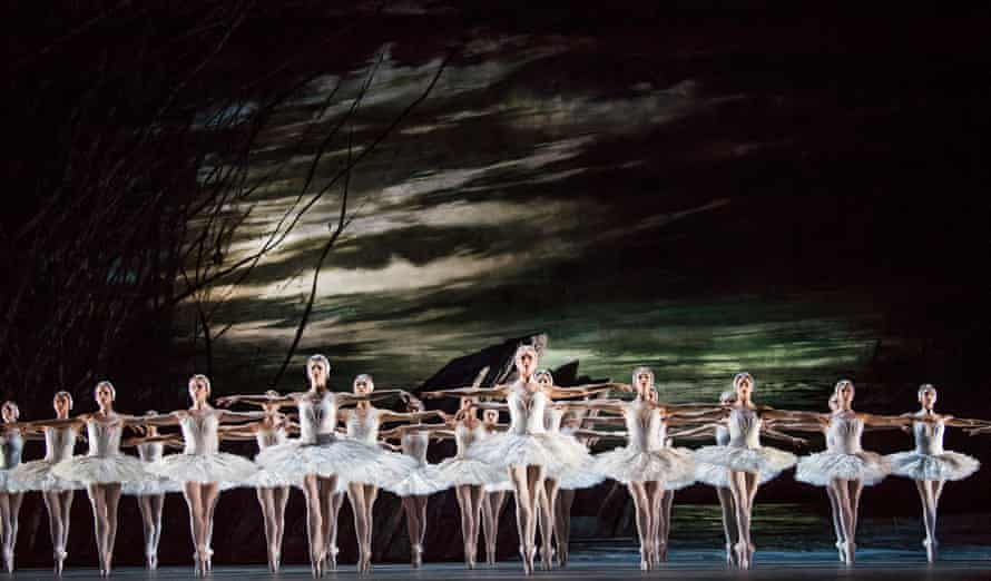 Scarlett's version of Swan Lake at the Royal Opera House in 2018.