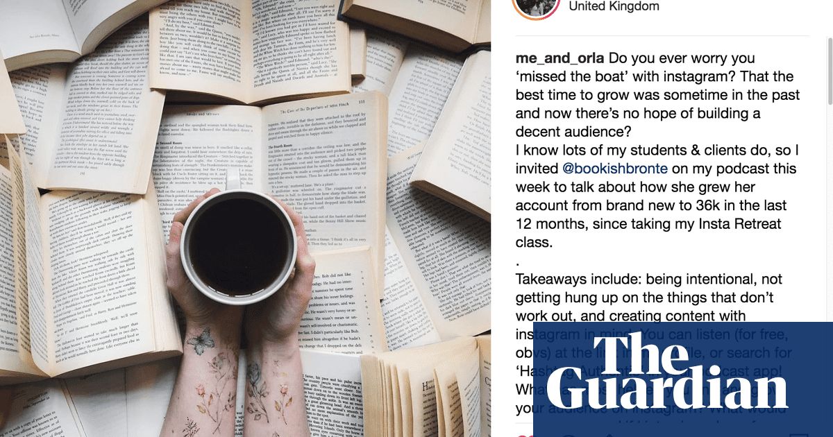 Don't have time to read a book? Just pose with them on Instagram