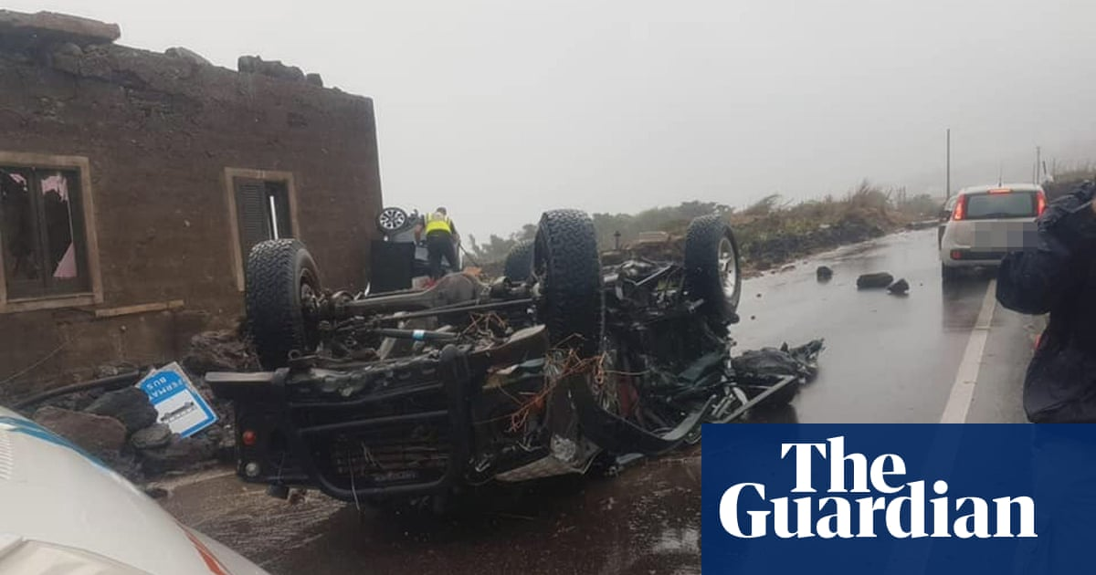 Two killed as tornado rips through Italian island of Pantelleria